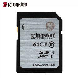Kingston carte mémoire 16 gb 32 gb 64 gb 128 gb sd hc xc SDHC SDXC uhs-je HD vidéo classe 10 cartao de memoria carte sd tarjeta
