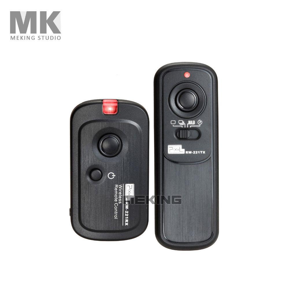 Pixel RW-221 DC2 Wireless Shutter Release Remote Control for Nikon DSLR D90 D5000 D5100 D3100 D7000