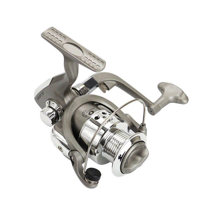 8BB SC Series 5.5:1 Ratio Fishing Reels Plastic Base Spincast Reel Fishing Spinning Shot Wheel Tools ALS88