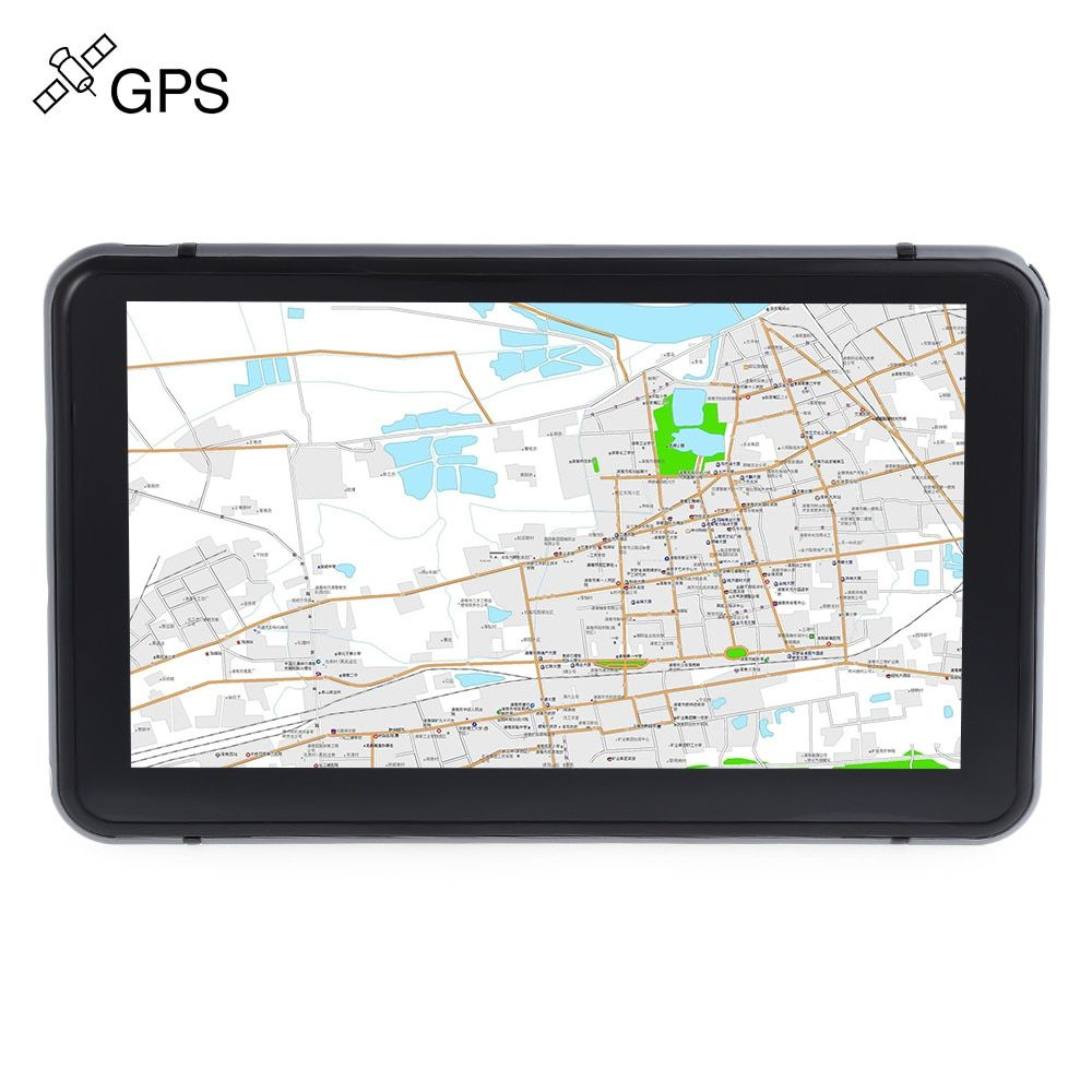 706 7 inch Truck Car GPS Navigation Navigator Win CE 6.0 800 x 480 Touch Screen Muti-media player with Free Maps