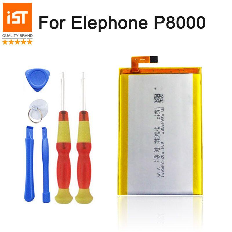 2019 nouveau 100% IST Original 4165 mAh batterie de téléphone Mobile pour Elephone P8000 batterie de remplacement de haute qualité avec des outils de réparation