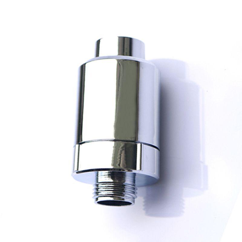 Mayitr Küchenarmatur Wasserfilter Bad In Linie Dusche Filter Energy Anion Ball Sprinkler Filter Durable Startseite Zubehör