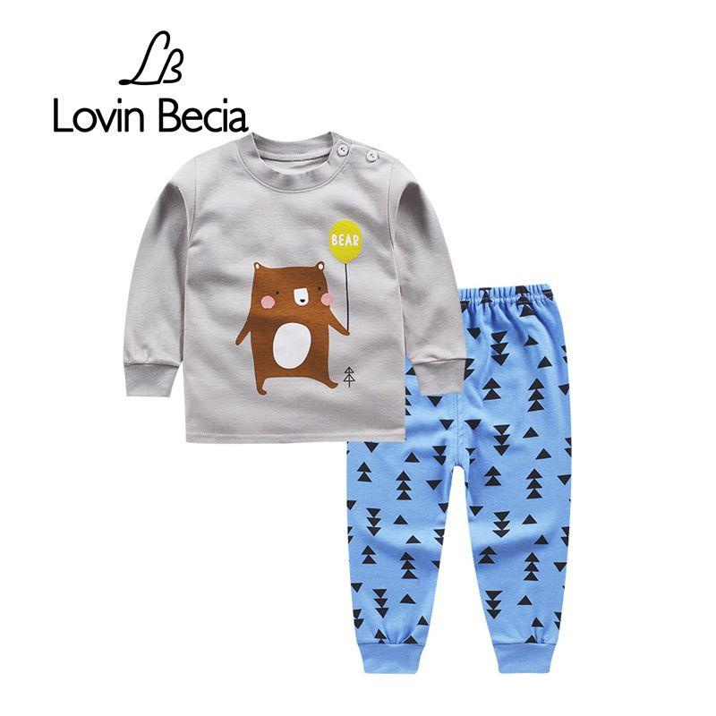 LovinBecia Sport costume garçon fille automne pour enfants sweatshirts vêtements enfant sport Sous-Vêtements à manches longues T-shirt Pantalon