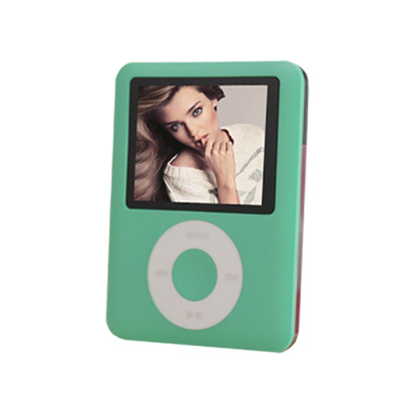 BGreen Real 8GB LCD Screen MP3 Player 3th Gen Ebook <font><b>Reader</b></font> Photo Viewer FM Radio Voice Recorder Video Player