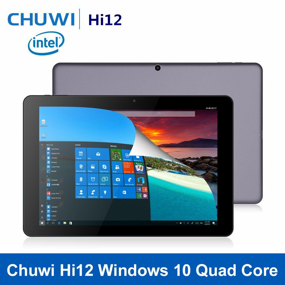 Original CHUWI Hi12 12 inch Windows 10 Tablet Quad Core Trail X5-Z8350 4GB RAM 64GB ROM 11000mAh HDMI Bluetooth 4.0 Tablet PC