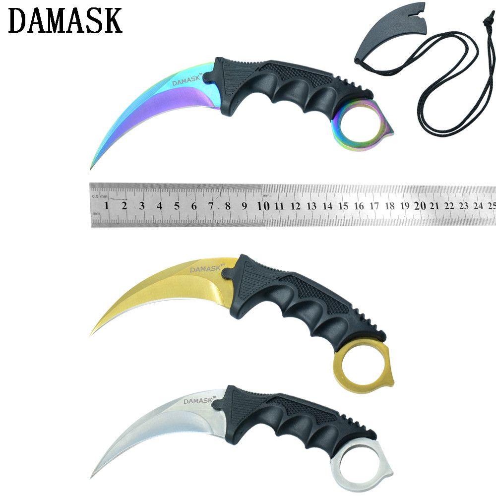 CSGO Counter Strike Taktische Überleben Outdoor Messer Karambit Klaue Jagdmesser Fashion Kampierende Neue Kommende
