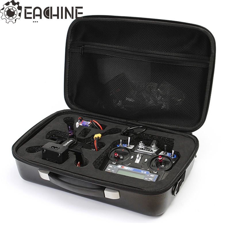 Realacc RC Multirotor Spare Part Handbag Suitcase Black Backpack Bag Hardshell Case For Eachine Wizard X220 FPV Racing Drone