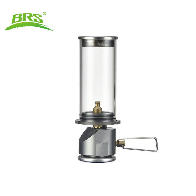 BRS Dreamlike Candle Lamp Mini Gas Lighting Outdoor Ultralight Caming Hanging Gas Lantern Camp Accessaries BRS-55