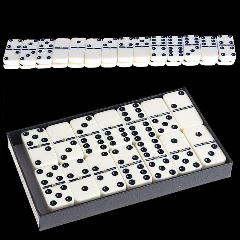 Деревянная коробка Domino Игрушка Игровой Набор/28 шт. путешествия домино идеально подходит для Для детей
