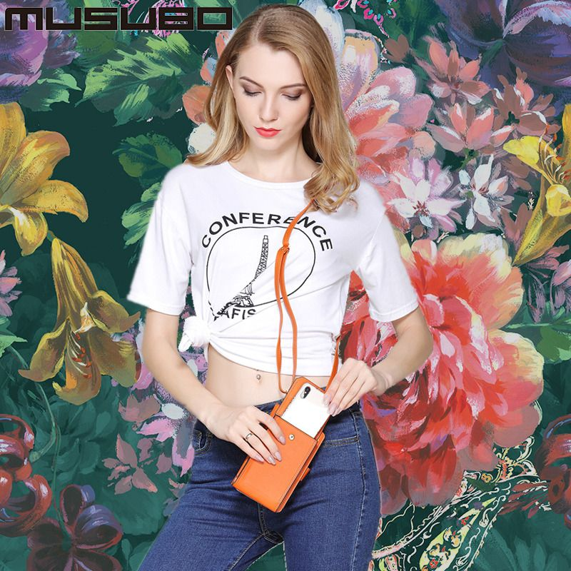 Musubo Fashion Girl Phone Bag Leather case For Xiaomi 6 mi 5 Note 3 Women Luxury Wallet Bag Cover for Redmi Note 4X 4 X 4A 4 A
