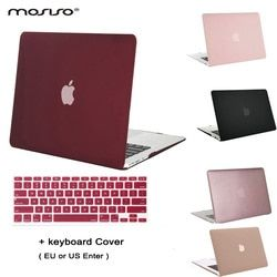 MOSISO Clear Matt Mac Air 13 Plastic Case Laptop Shell Hard Cover for Macbook Air 11.6 13.3 inch Notebook Sleeve+Keyboard Cover
