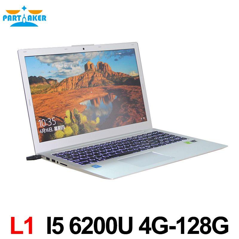 Neueste Core i5 6200U CPU Ultrabook mit hintergrundbeleuchtung DDR3 RAM MSATA SSD Webcam Wifi Bluetooth HDMI Windows 10 laptop mit GT940M 2G