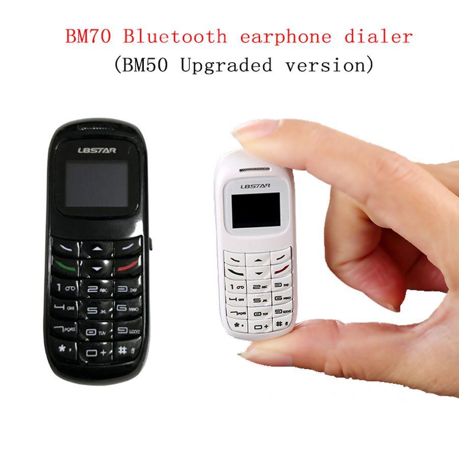 BM70 Pro BM50 Upgrade Mini Phone Bluetooth Earphone Headset Dialer Stereo Bass Headphone SIM Card Dial Call for iPhone xiaomi