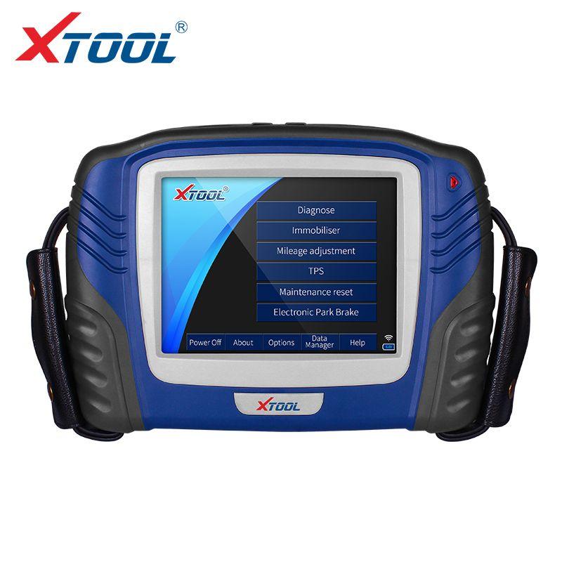 XTOOL PS2 GDS Berufs Auto Diagnose Werkzeug Mit Auto schlüssel programmierung wegfahrsperre und schaltet sich ABS lichter Lesen/Löscht fehler