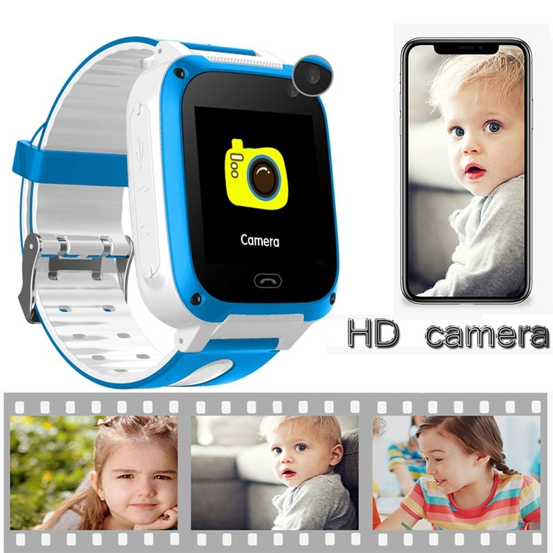 LSB positioning tracker children's smart watch intelligent voice chat SOS alarm emergency mobile phone security smart watch