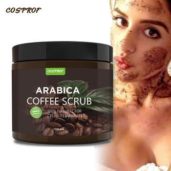 Coffee Scrub Body Scrub Cream Facial  Dead Sea Salt For Exfoliating Whitening Moisturizing Anti Cellulite Treatment Acne