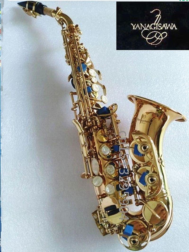 Yanagisawa Sopran saxophon Tom BB Sopran Saxophon kurve von B erstellt musical instrument Saxophon für kind der geschenk S