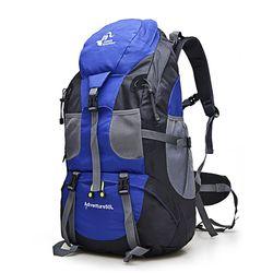 Hot Sale 50L Outdoor Backpack Camping Bag Waterproof Mountaineering Hiking Backpacks Molle Sport Bag Climbing Rucksack FK0396