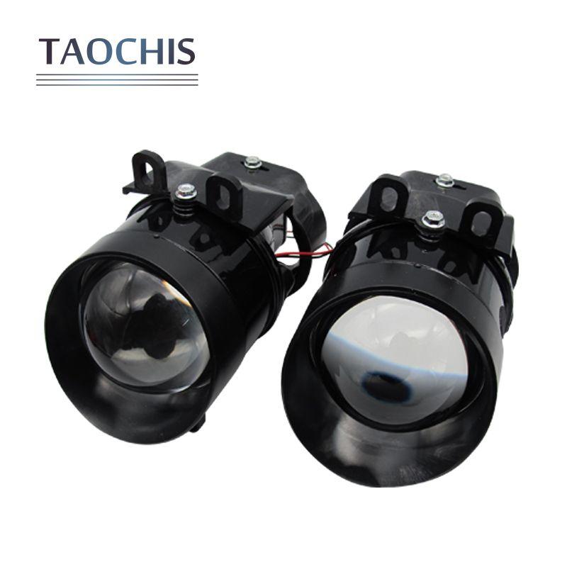 Taochis Авто 3.0 дюймов Bi Xenon HID объектив проектора противотуманных фар для Toyota Corolla Camry RAV 4 Lexus VIOS PRIUS горец H11