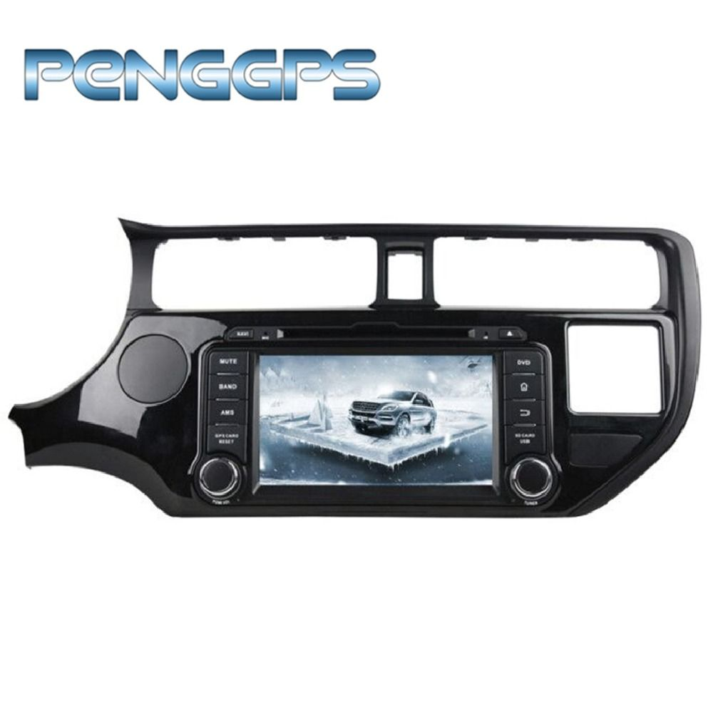 Octa Core 2 Din Stereo CD DVD Player Android 8.0 Auto Radio für KIA RIO K3 2012 2013 2014 Auto GPS navigation Android 7.1 Einheit