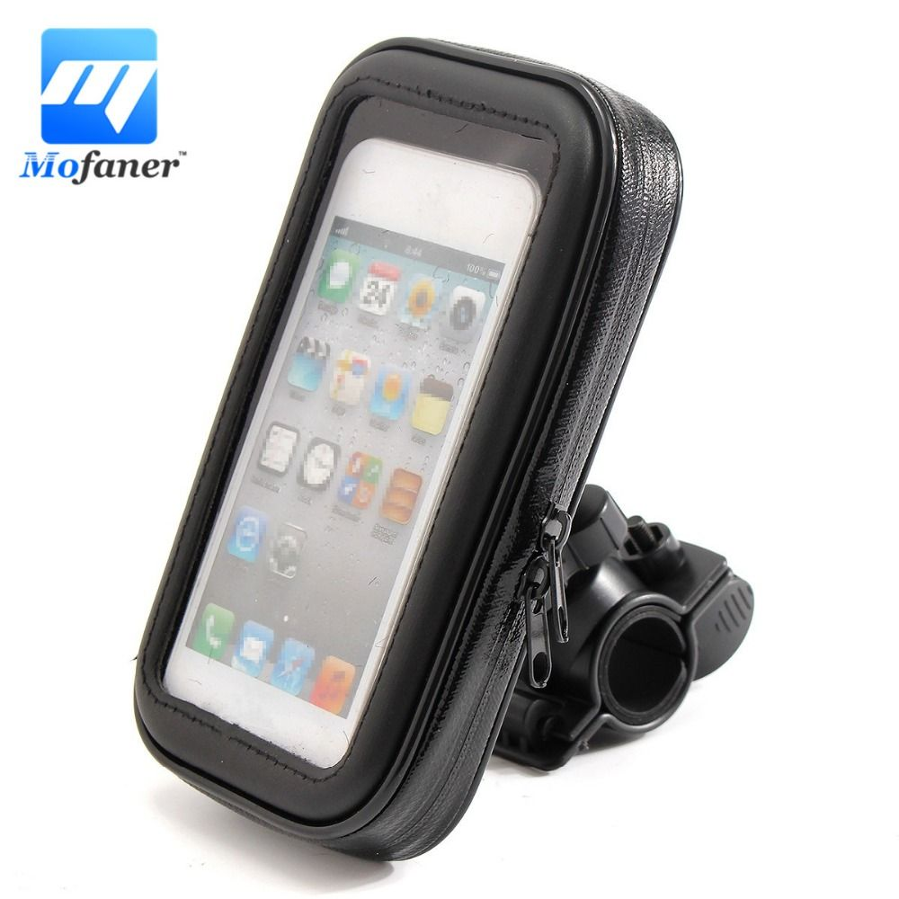 Waterproof  Motorcycle Bicycle Bike Phone Mount Holder Universal Motorbike Cycling Bag Case For Phone GPS
