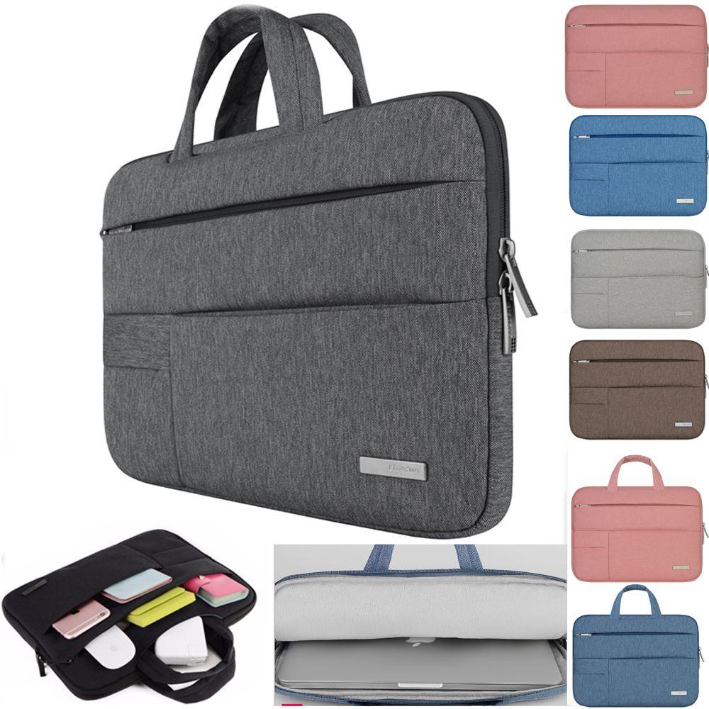 Men Women Portable Notebook Handbag Air Pro 11 12 13 14 15.6 Laptop Bag/Sleeve Case For Dell HP <font><b>Macbook</b></font> Xiaomi Surface pro 3 4