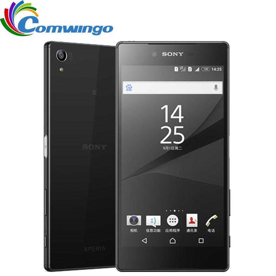 Original Entsperrt Sony Z5 Premium Japanischen Version 3 GB RAM 32 GB ROM Einzelne Sim Fingerprint 5,5