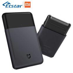 Xiaomi Mijia Electric Shaver Razor Mini Portable Shaver Japan Steel Cutter Head Metal Body USB Type-C Big Battery Face Shaving
