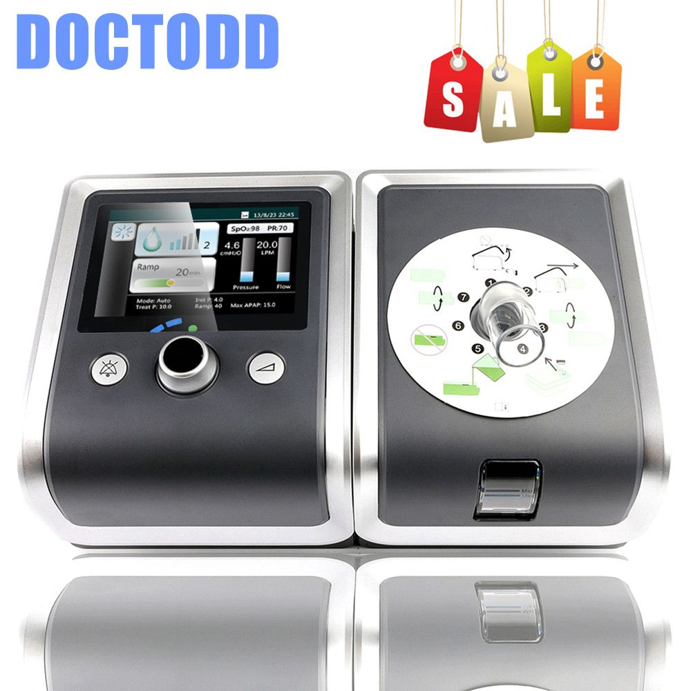 Doctodd GII Auto CPAP E-20A-O APAP Machine For Snoring Therapy Anti Snoring Sleep Apnea OSAHS OSAS APAP With Mask S M L Size