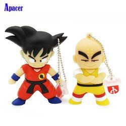 Apacer pen drive 4 GB 8 GB 32 GB 64 GB dibujos animados Dragon Ball Goku krilin pendrive 16 GB USB unidad flash