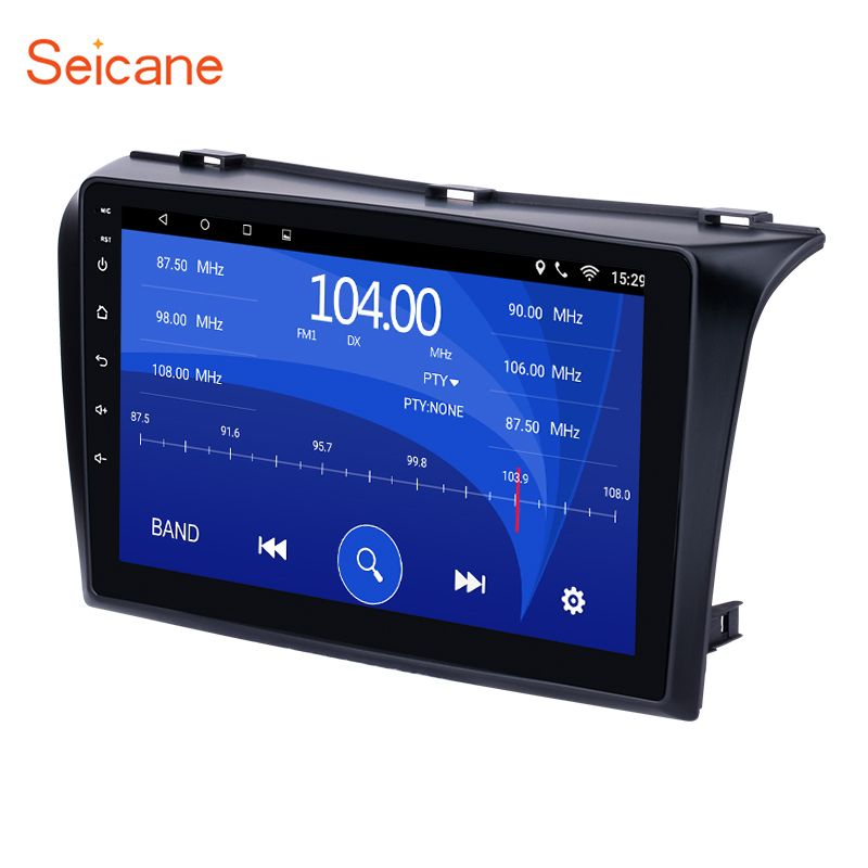 Seicane Android 6.0 9 inch GPS Car Radio Multimedia Player for 2004-2009 Mazda 3 support Bluetooth USB WIFI Rearview Camera