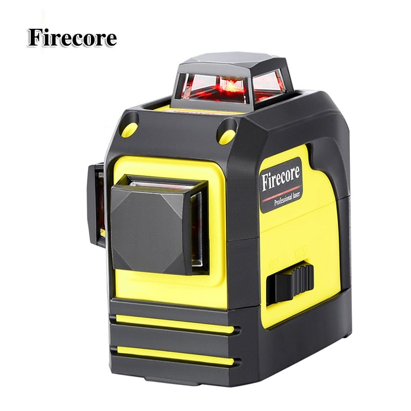 Firecore <font><b>12Lines</b></font> 3D 93T Laser Level Self-Leveling 360 Horizontal And Vertical Cross Super Powerful Red Laser Beam Line