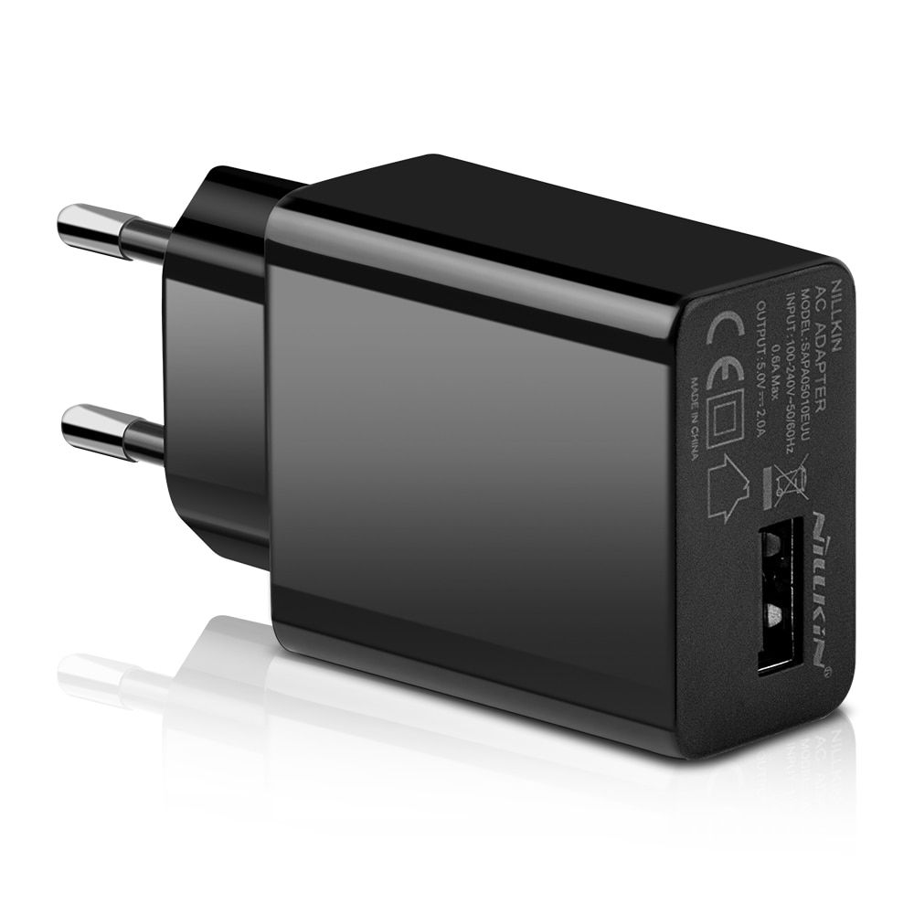 Nillkin Universal USB fast Charger Adapter Wall Portable Plug Mobile Phone Smart Desktop for iPhone for xiaomi AC DC USB Port