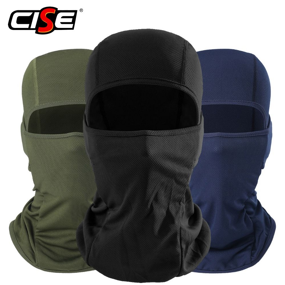 Motorcycle Balaclava Full Face Mask Warmer Windproof Breathable Airsoft Paintball Cycling Ski Shield Anti-UV Men Sun Hats Helmet