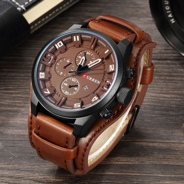 CURREN Watches Men Watch Luxury Brand Analog Men Military Watch Reloj <font><b>Hombre</b></font> Whatch Men Quartz Curren Male Sports Watches 8225