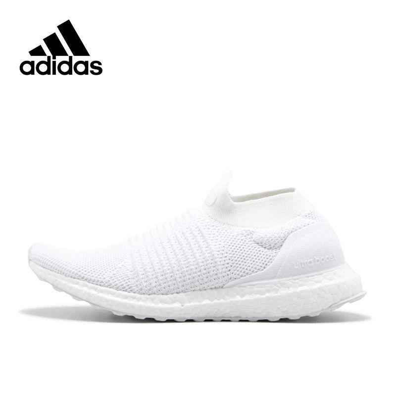Оригинальный Новое поступление Официальный Adidas Ultra Boost laceless 4.0 Для Мужчин's Кроссовки для бега спортивный Кроссовки