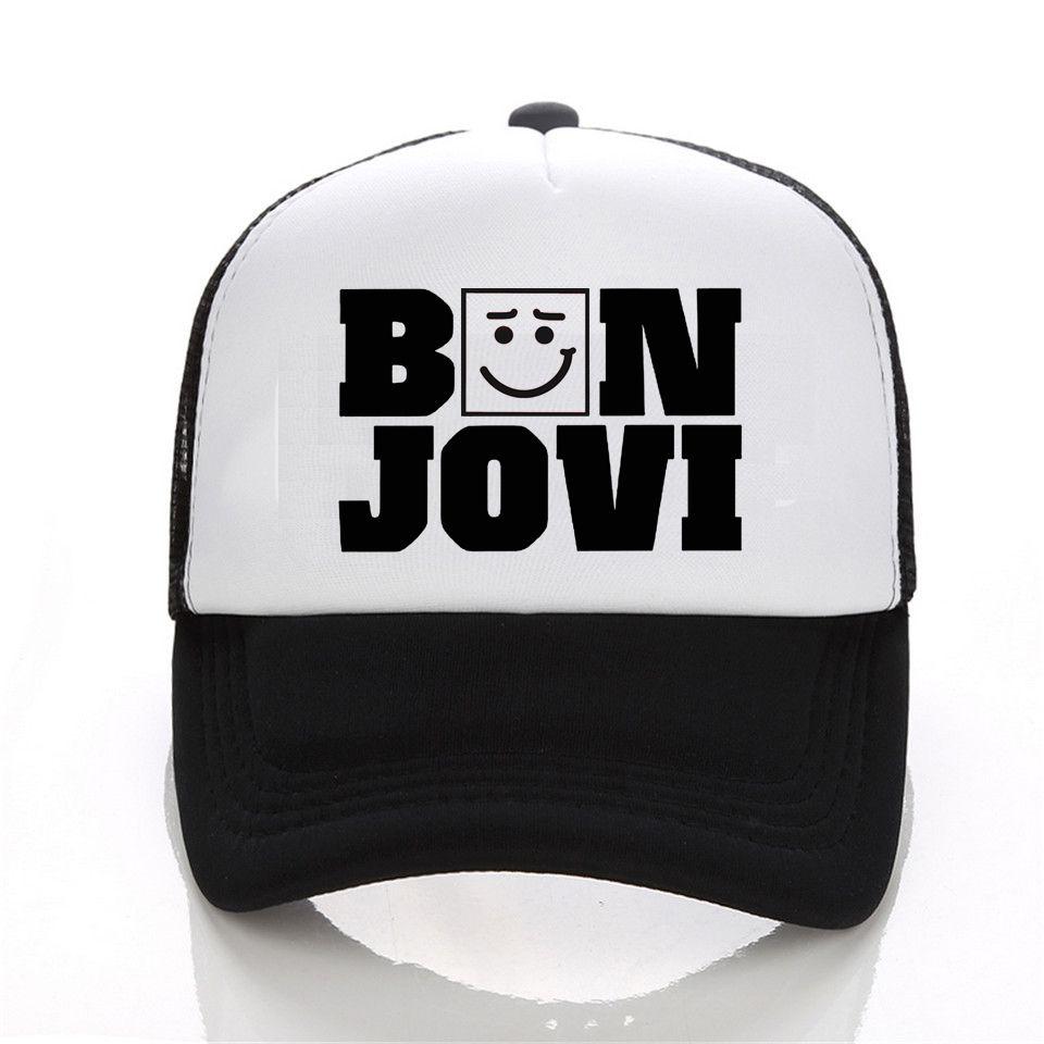 2017 New Fashion Men Women Bon Jovi cap Men New Style 6 Colors Rock Band baseball caps Men Lovers snapback cap