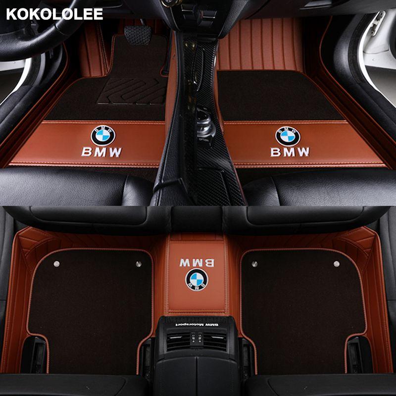 kokololee Custom car floor mat for Skoda all models octavia fabia rapid superb kodiaq yeti car styling car accessories floor mat