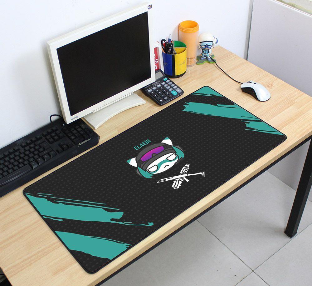 Rainbow Six Siege 70x40cm Super Large Mousepads Gamer Gaming Mouse Pads New arrival Desk Mat for Chicken Dinner Tapis De Souris