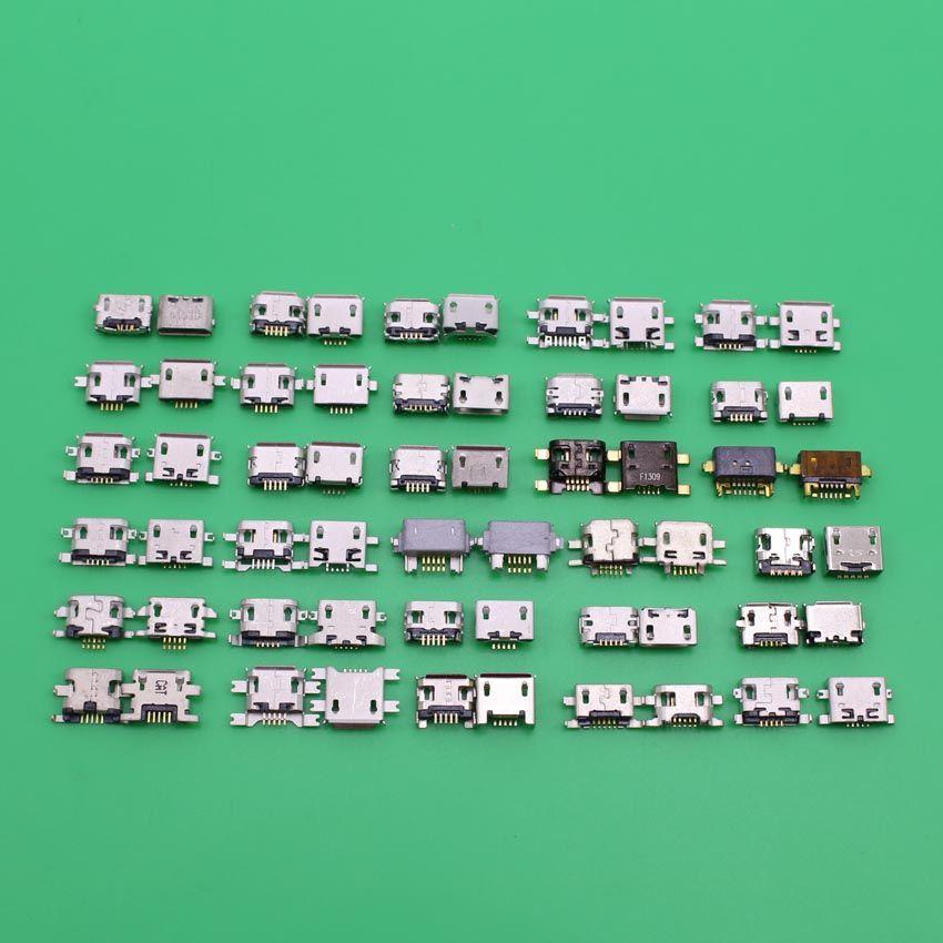Prise Micro USB pour bloc-notes ASUS 7 ME170C pour huawei g610 p6 c8815 3x g730 pour htc evo4g g6 g8 connecteur de Port de prise de charge