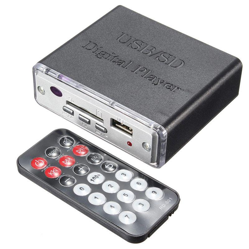 12 V Portable amplificateur de puissance MP3 SD USB lecteur de lecteur Audio 3-contrôle du clavier électronique avec télécommande