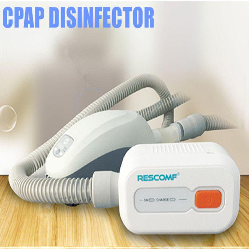 negative-ion Rechargeable Battery Ventilator Sterilizer CPAP APAP BPAP Disinfector for Face Mask Sleep Apnea OSAHS OSAS