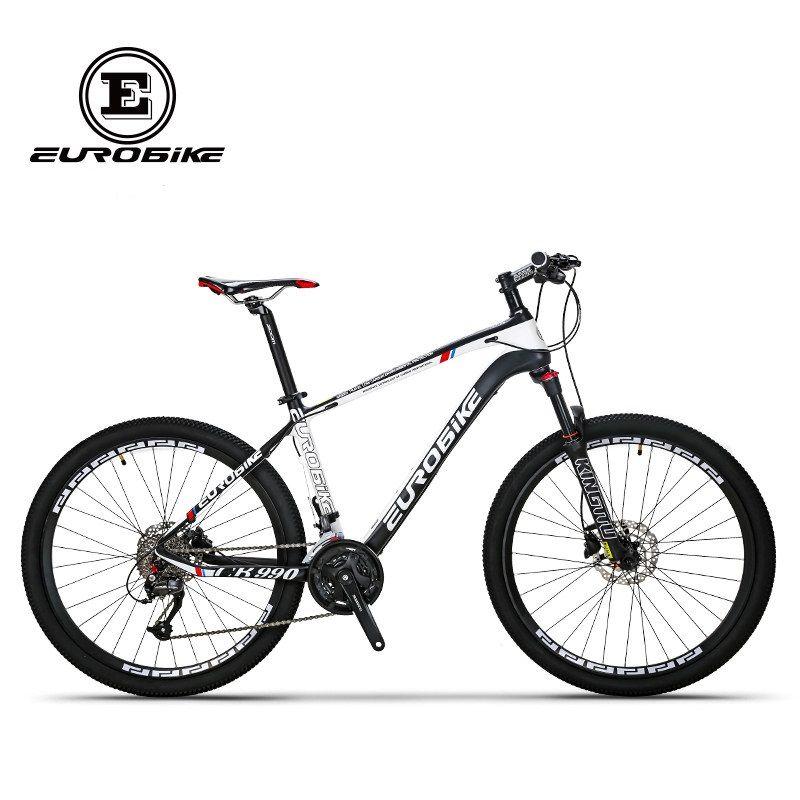 EUROBIKE carbon fibre bike 27 speed 26 inch wheel complete mountain bike