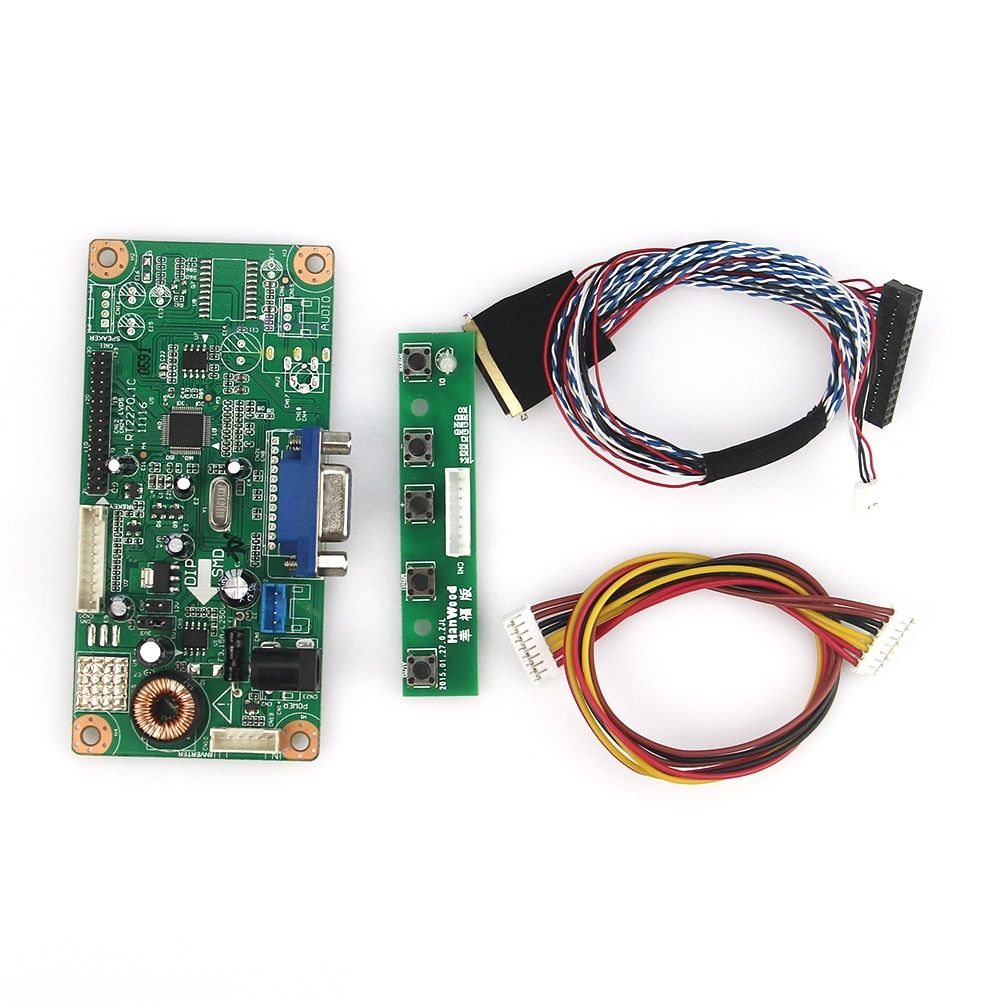 M. RT2270 LCD/LED Controller Driver Board (VGA) Für LP156WH4 (TL) (A1)/(TL) (N1) LVDS Monitor Wiederverwendung Laptop 1366x768