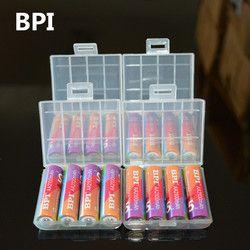 Original BPI 1.2V AA Battery Rechargeable Batteries 2100mah 2A Bateria Baterias Ni-mh Rechargeble Battery For Flashlight
