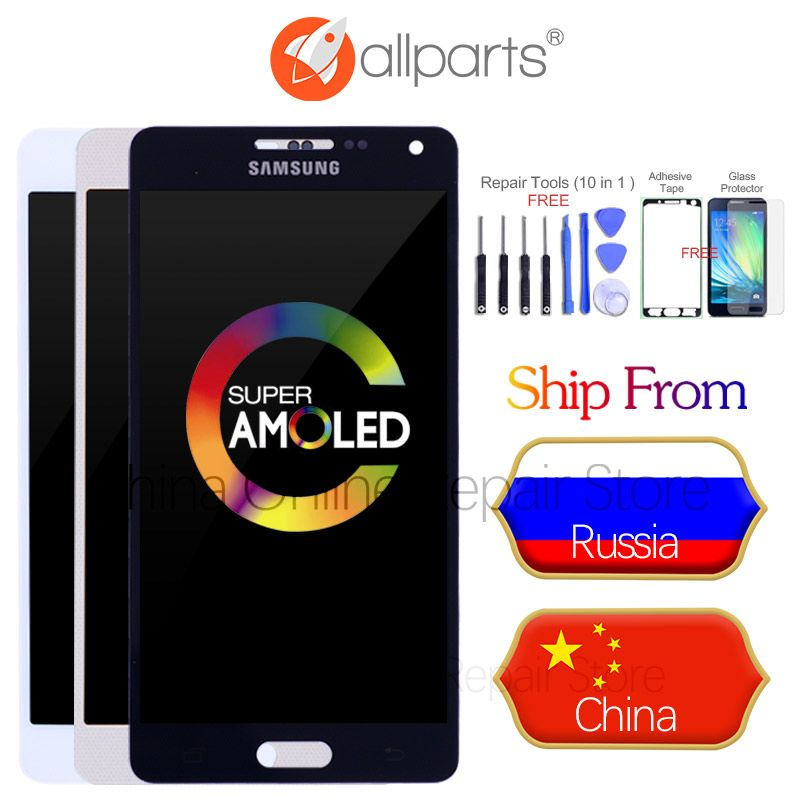 AMOLED LCD pour SAMSUNG Galaxy A5 2015 Affichage A500FU A500 A500F A500M Écran Tactile Digitizer Pour SAMSUNG Galaxy A5 Remplacement