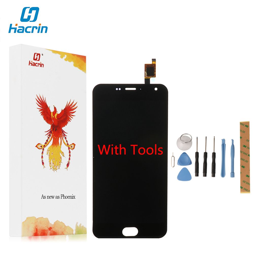 Hacrin For Meizu M2 Mini LCD Display+Touch Screen New Digitizer Glass Panel Replacement For meizu m2 mini Mobile Phone