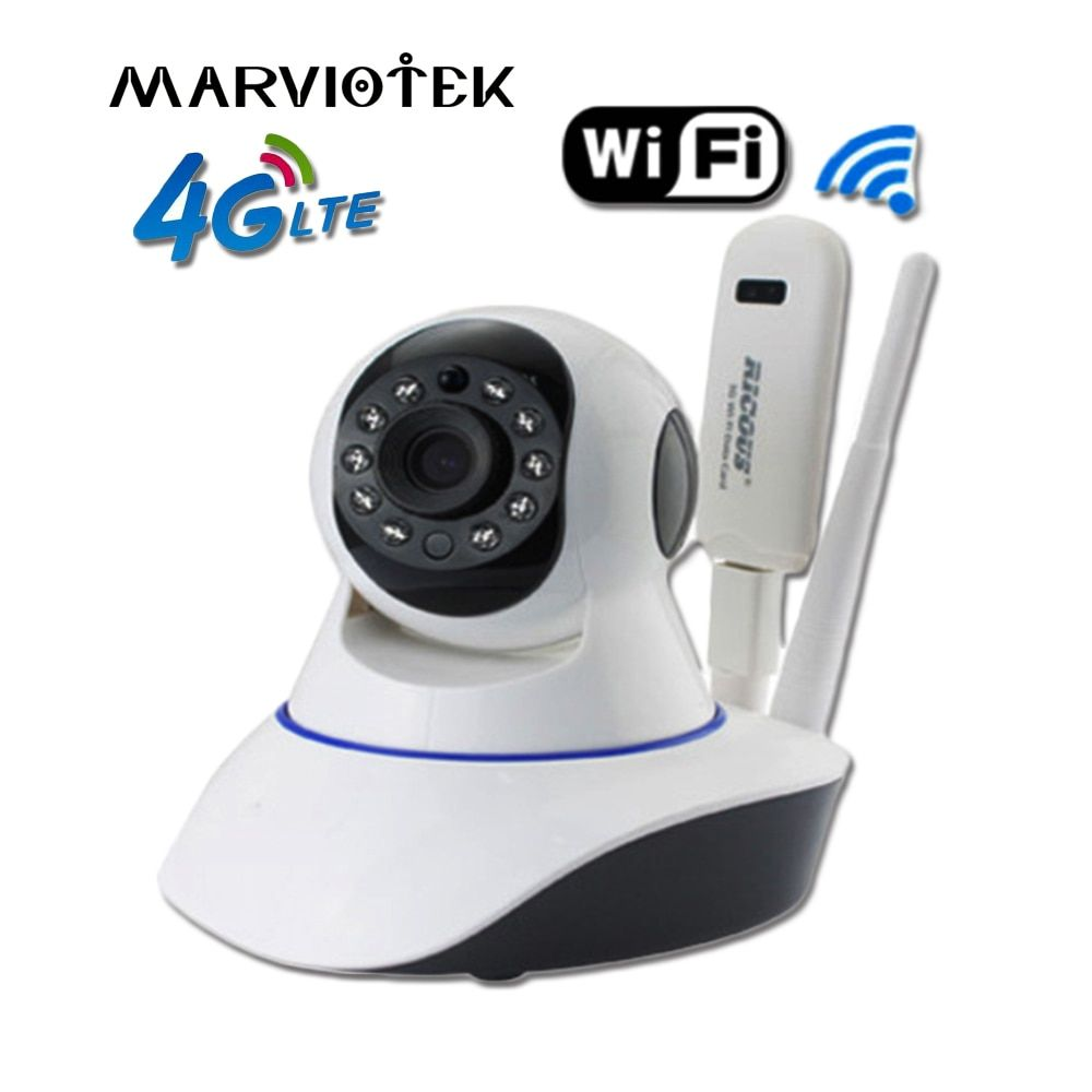 720P Wireless IP Camera wi-fi alarm wifi camera surveillance 360 degree Pan Tilt 4G cctv camera 3G with sim card slot