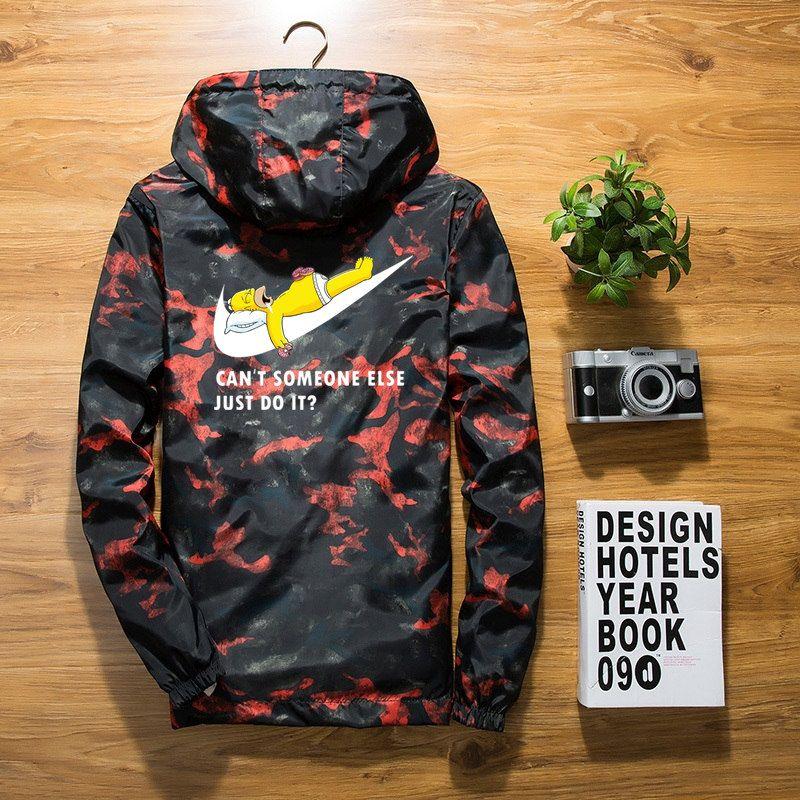 New 2018 Autumn winter jacket men thin jackets men casual lover jacket hip hop windbreaker hooded jacket coat zipper parka men