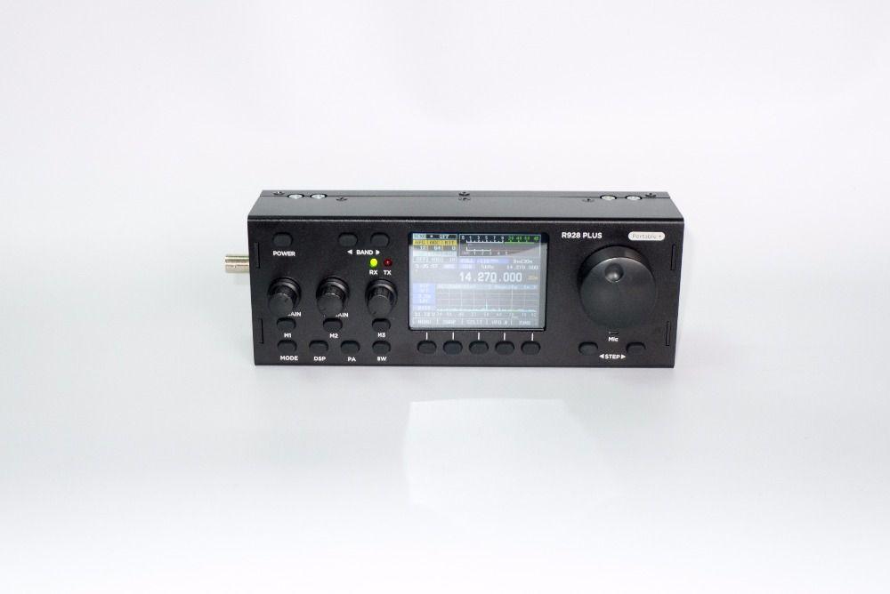 HF SDR Transceiver RX:1.8-30MHz TX:All HAM HF BANDS,Full Modes: SSB(J3E),CW,AM(RX Only),SAM,FM, FREE-DV